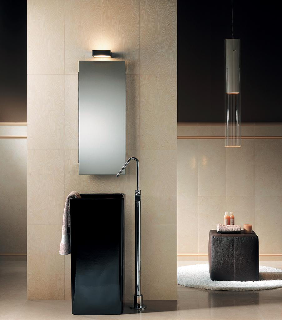 Individuelles Design In Bad Und Wellnessbereich U203a Tiles 4u Kavakidis,  Badezimmer Dekoo · Badezimmer Beige Schwarz ... Idea