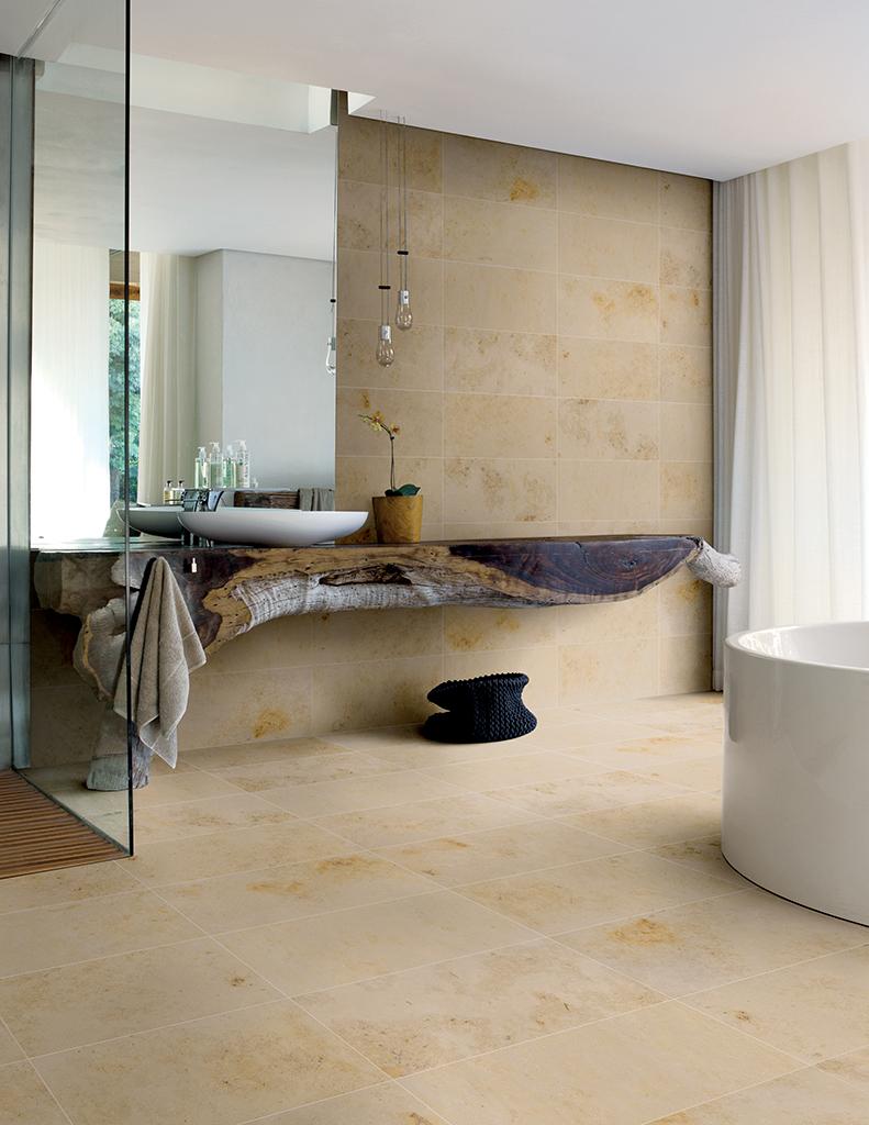 Badezimmer (beige)